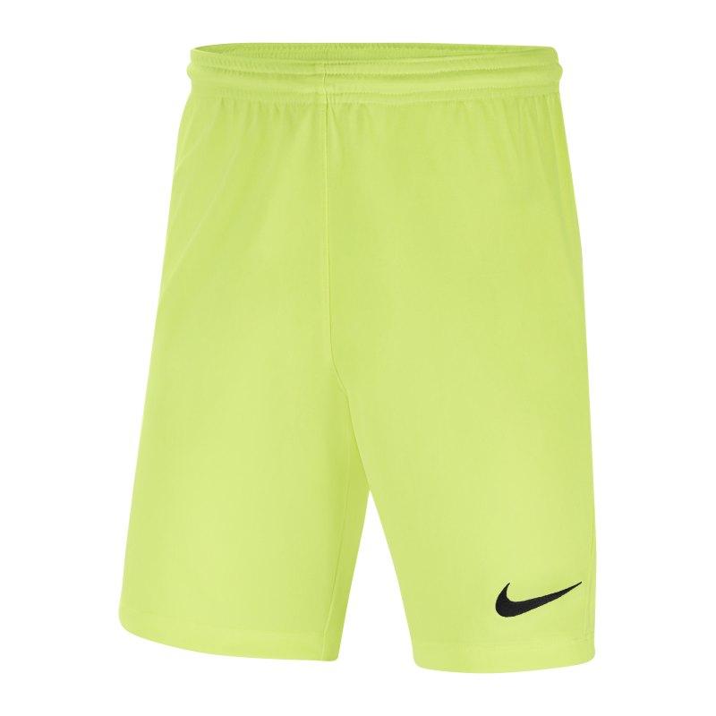 Nike Park III Short Kids Gelb F702 - gelb