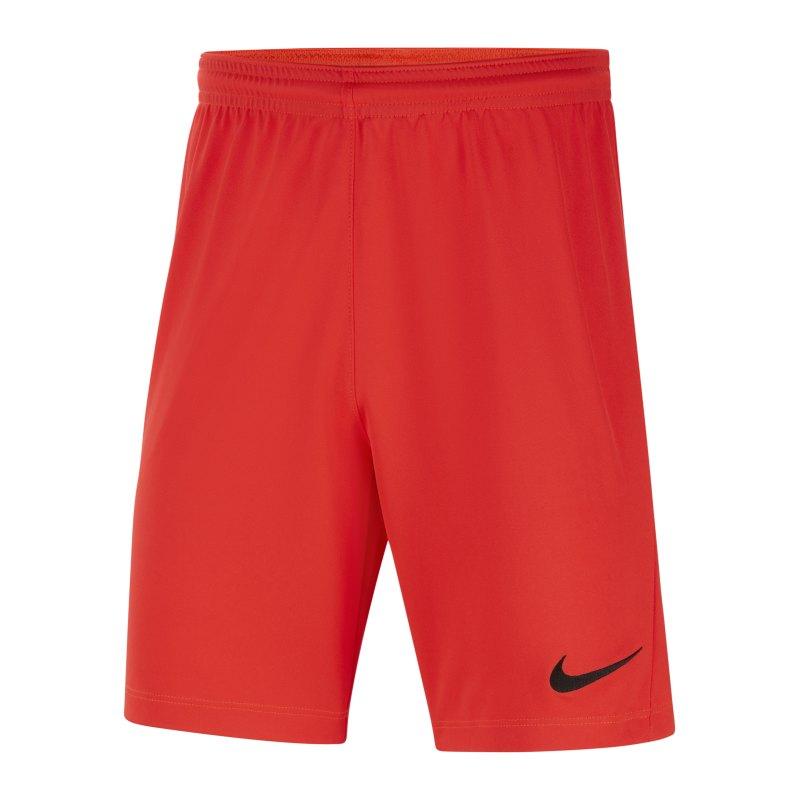 Nike Park III Short Kids Rot F635 - rot