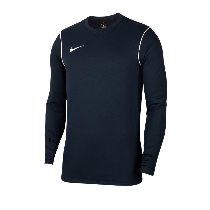 Nike Park 20 Training Sweatshirt Blau F410 - blau