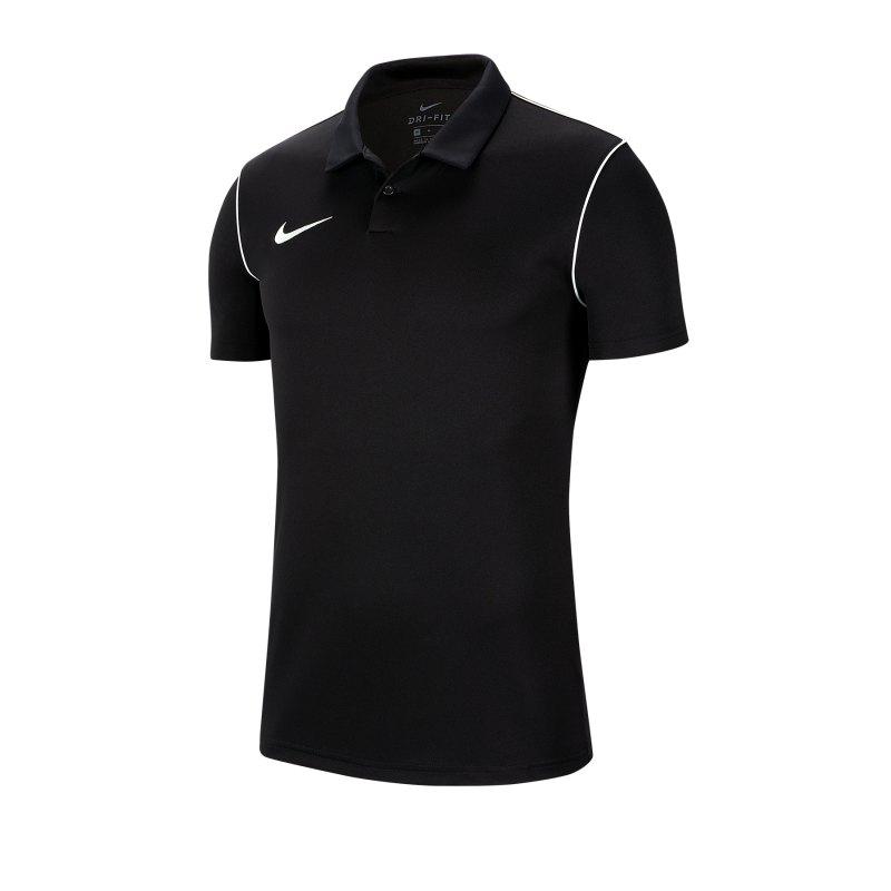 Nike Park 20 Poloshirt Schwarz F010 - schwarz