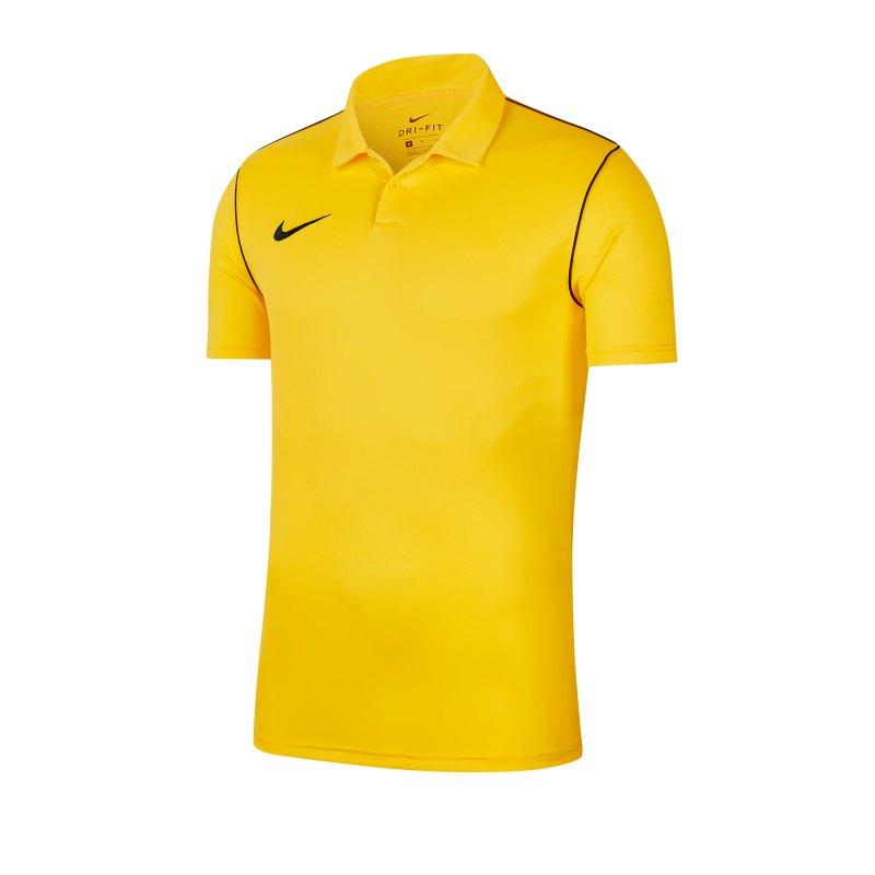 Nike Park 20 Poloshirt Kids Gelb F719 - gelb