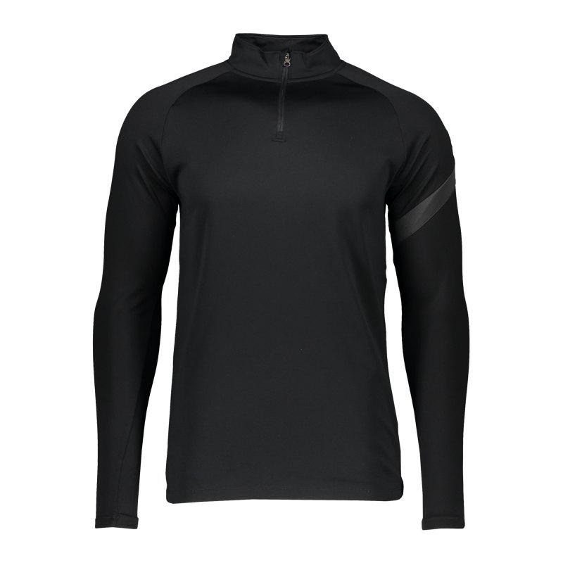 Nike Academy Pro Drill Top langarm F011 - schwarz