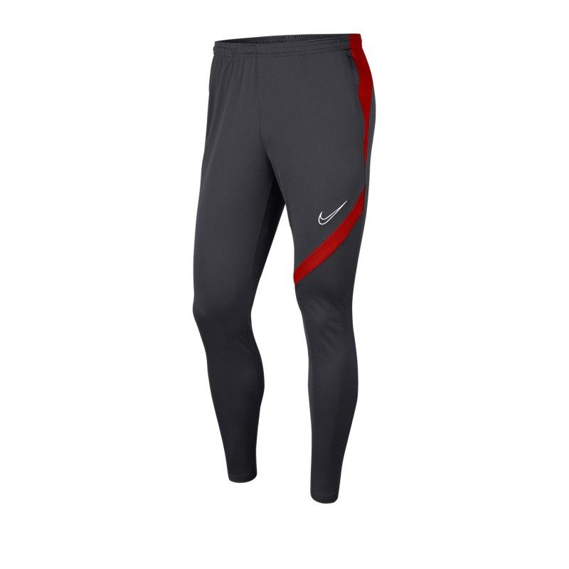Nike Academy Pro Trainingshose Grau Rot F062 - grau