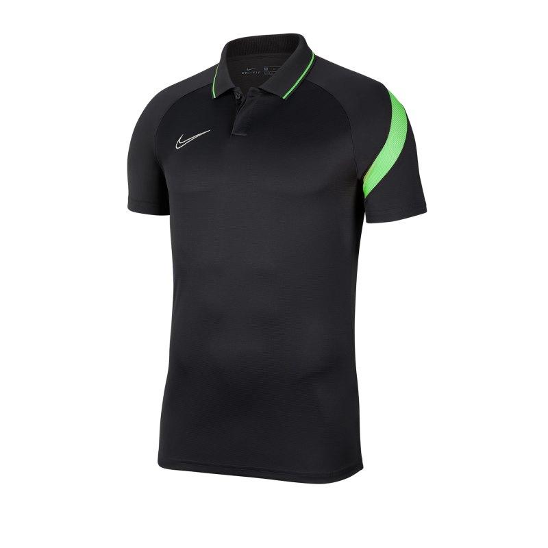 Nike Academy Pro Poloshirt Grau F060 - grau