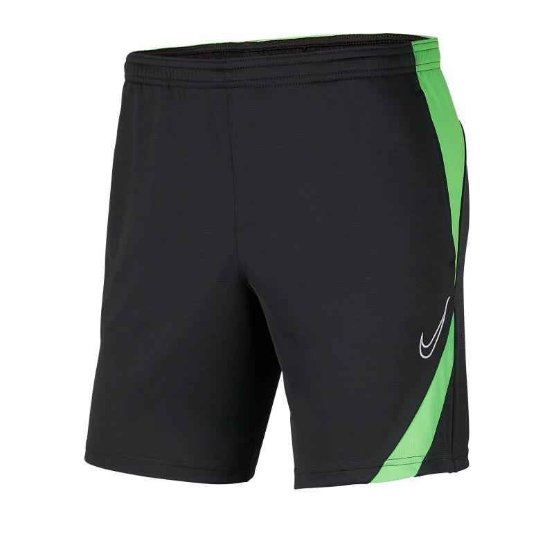 Nike Academy Pro Short Schwarz Grün F064 - schwarz