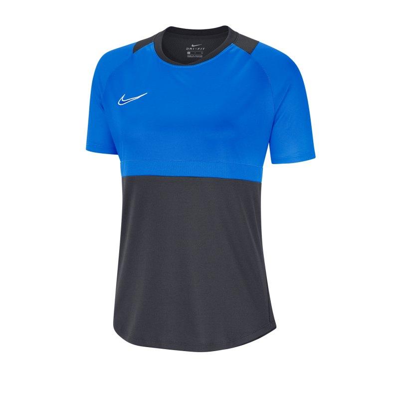 Nike Academy Pro Shirt kurzarm Damen F068 - grau