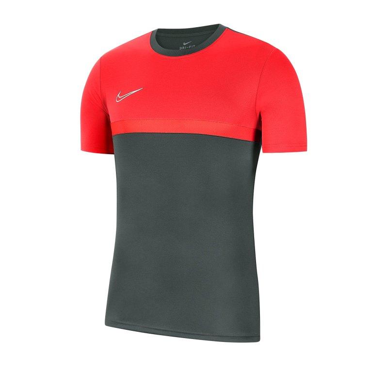 Nike Academy Pro Shirt kurzarm Kids F064 - grau