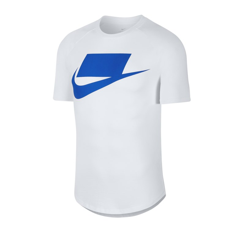 Nike Short Sleeve Tee T-Shirt Weiss F100 - weiss