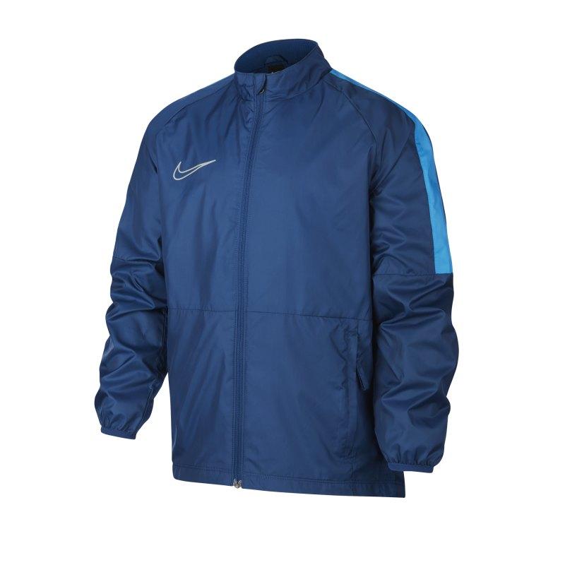 Nike Repel Academy Allwetterjacke Kids Blau F407 - blau