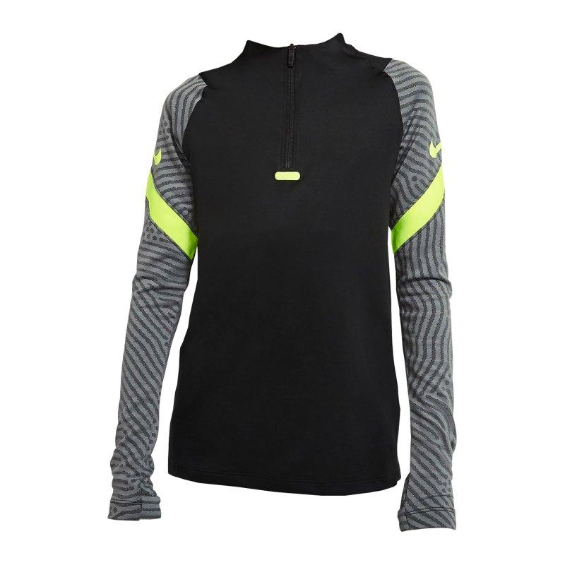 Nike Dry Strike Drill Top langarm Kids F011 - schwarz