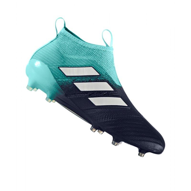 adidas FG ACE 17+ Purecontrol Blau Weiss - blau