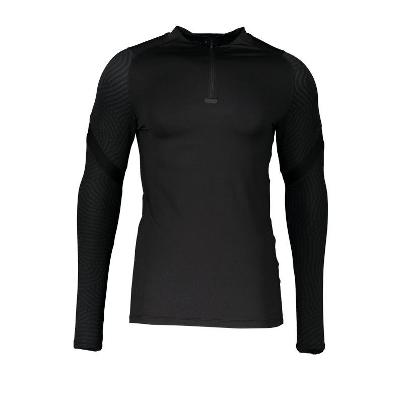 Nike Strike 1/4 Zip Sweatshirt F010 - schwarz