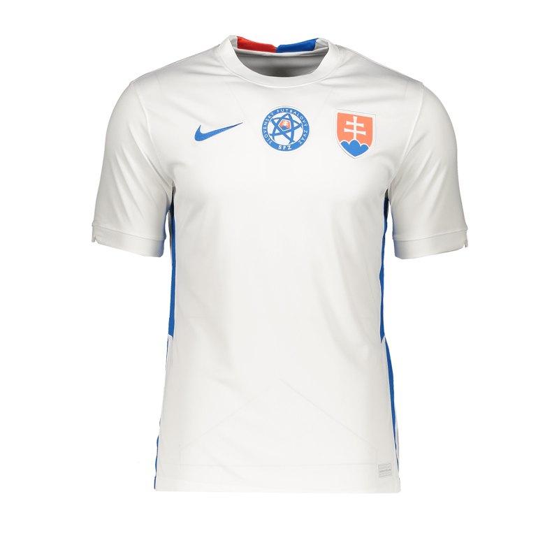 Nike Slowakei Trikot Away EM 2021 Weiss F100 - weiss