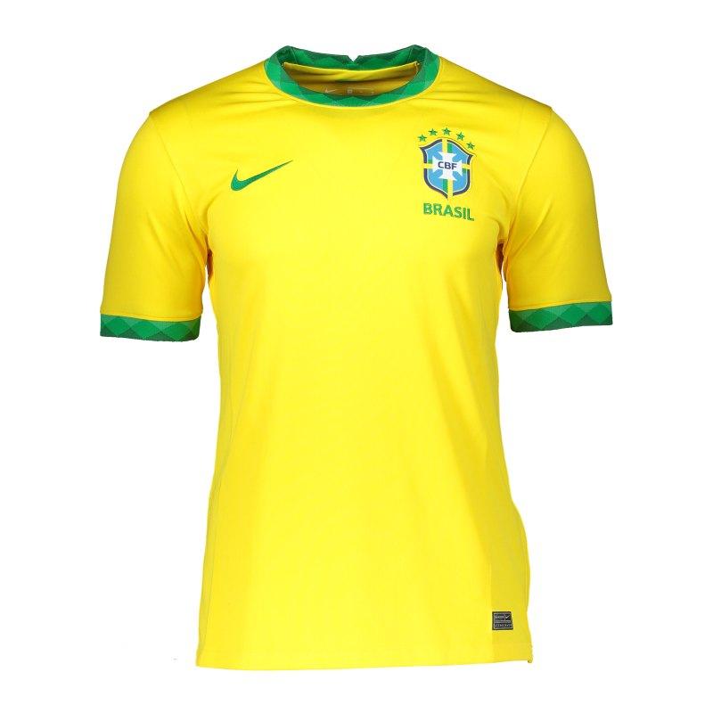 Nike Brasilien Copa America Trikot Home 2020 K F749 - gold