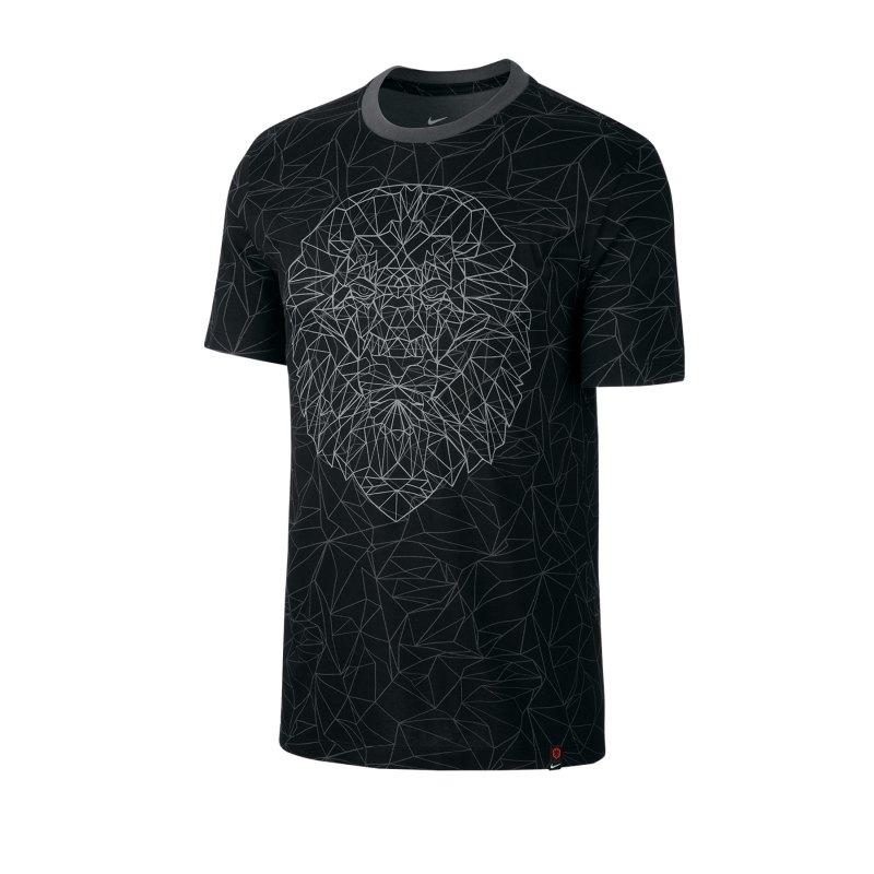 Nike Niederlande Tee T-Shirt Voice Schwarz F010 - schwarz