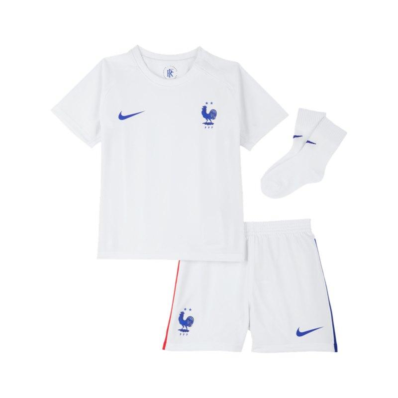 Nike Frankreich Baby Kit Away EM 2021 Weiss F100 - weiss