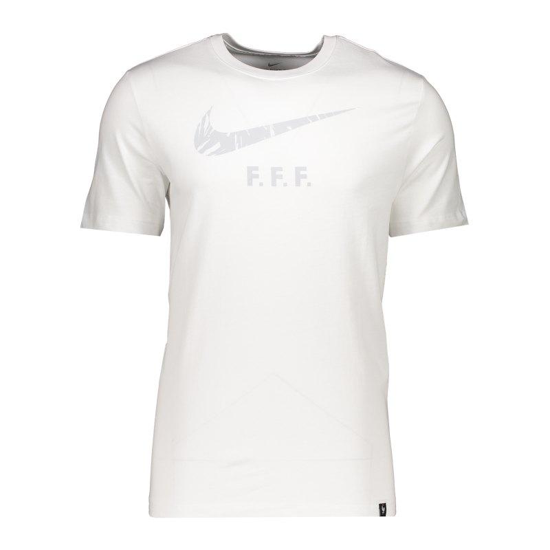 Nike Frankreich Ground Tee T-Shirt Weiss F100 - weiss