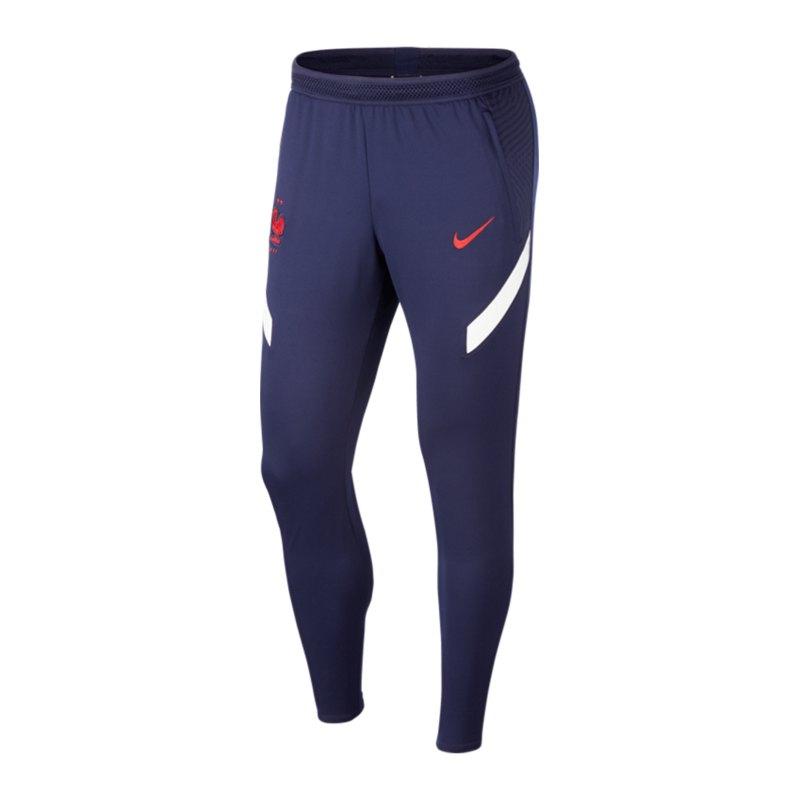 Nike Frankreich Dry Strike Pant Hose F498 - blau