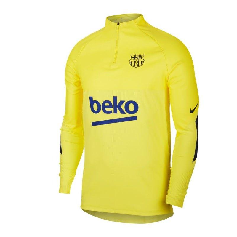 Nike FC Barcelona Strike Drill Top Gelb F705 - gelb