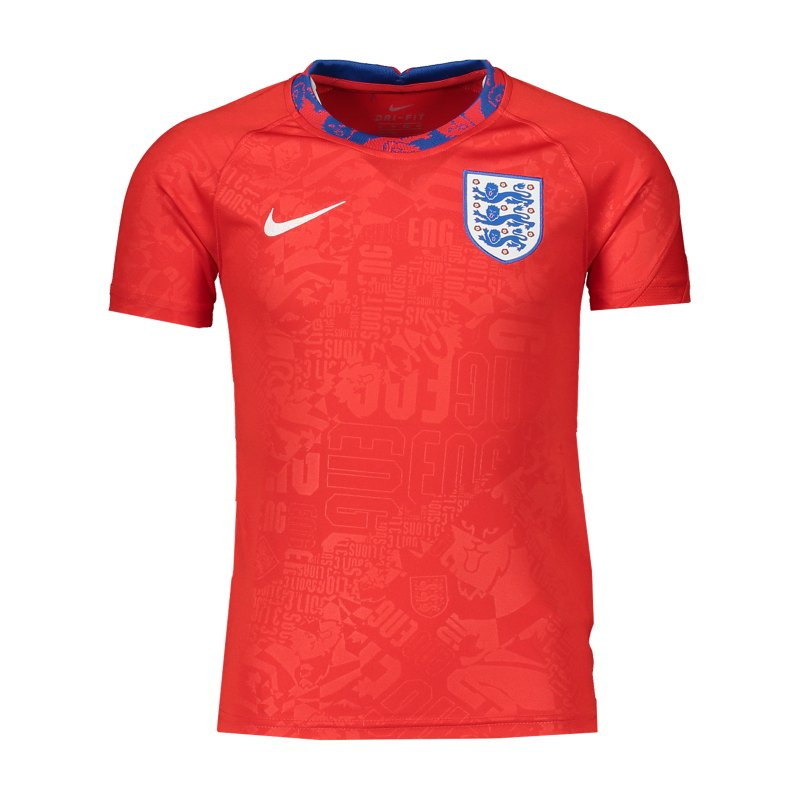 Nike England Trainingstop Kids Rot F600 - rot
