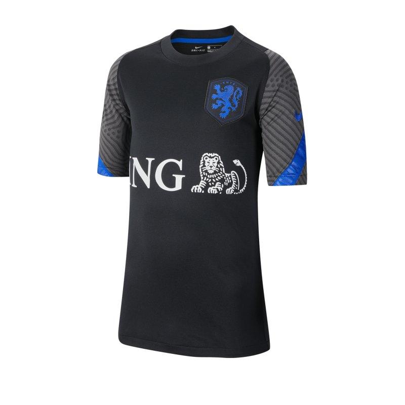Nike Niederlande Strike T-Shirt SS Kids F011 - schwarz