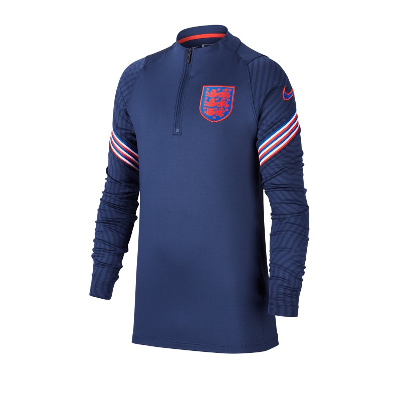 Nike England Strike Drilltop Kids F412 - blau