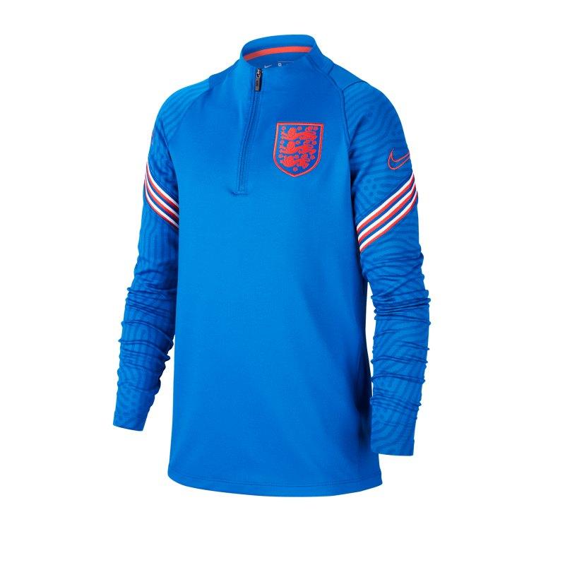 Nike England Strike Drilltop Kids F485 - blau