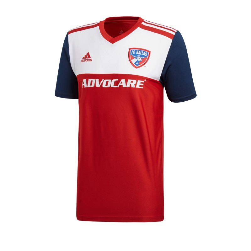 adidas FC Dallas Trikot Home 2019/2020 Rot - rot