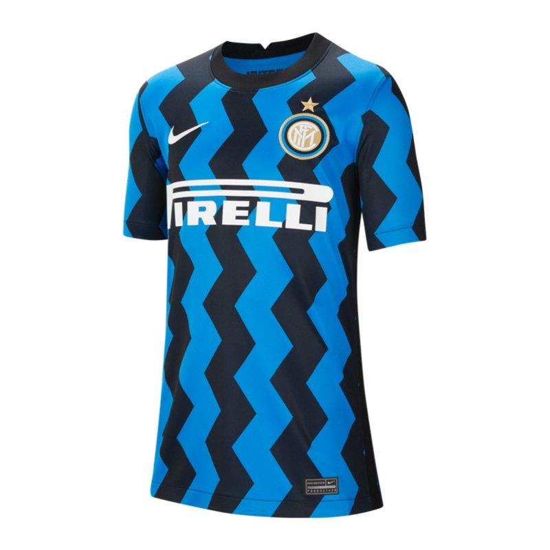 Nike Inter Mailand Trikot Home 2020/2021 Kids F414 - blau