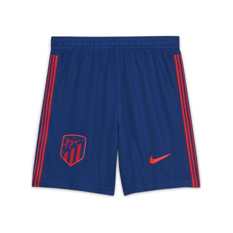 Nike Atletico Madrid Short Away 2020/2021 Kids Blau F490 - blau