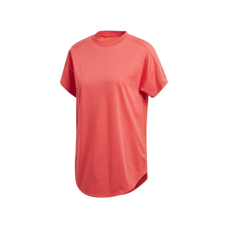adidas Z.N.E. Tee T-Shirt Damen Rot - rot
