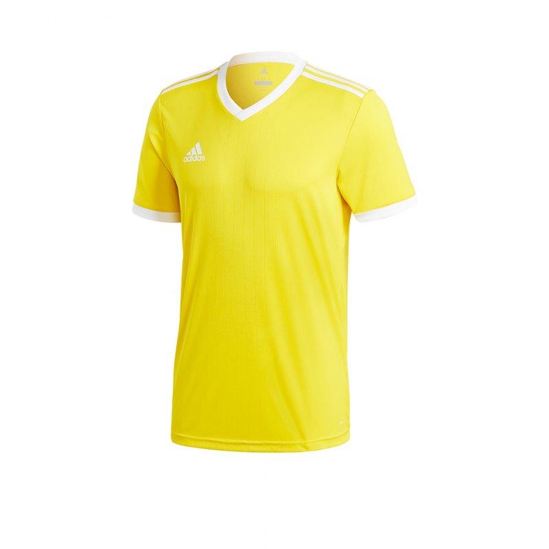 adidas Tabela 18 Trikot kurzarm Gelb Weiss - gelb