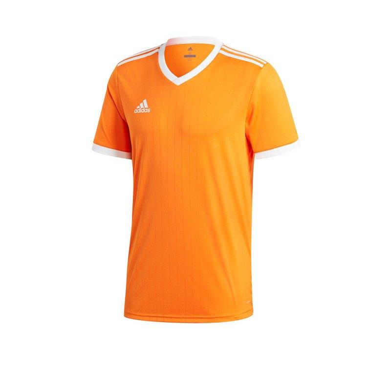 adidas Tabela 18 Trikot kurzarm Orange Weiss - orange