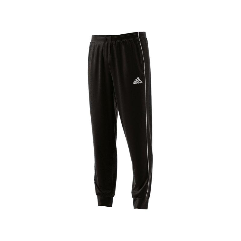 adidas Core 18 Sweat Pant Schwarz Weiss - schwarz