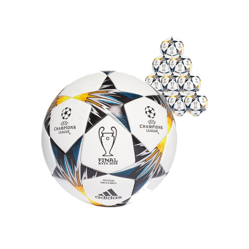 adidas Finale Kiev OMB 10xSpiellball Weiss - weiss