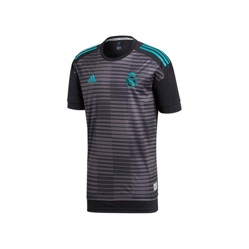 adidas Real Madrid Prematch Shirt Schwarz - schwarz