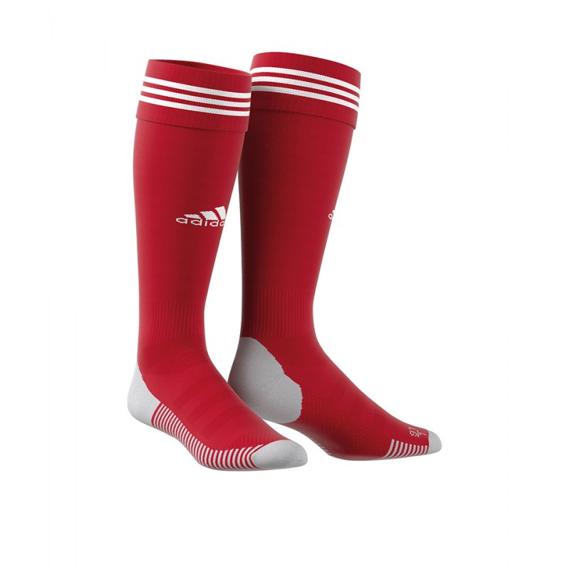 adidas Adisock 18 Stutzenstrumpf Rot Weiss - rot