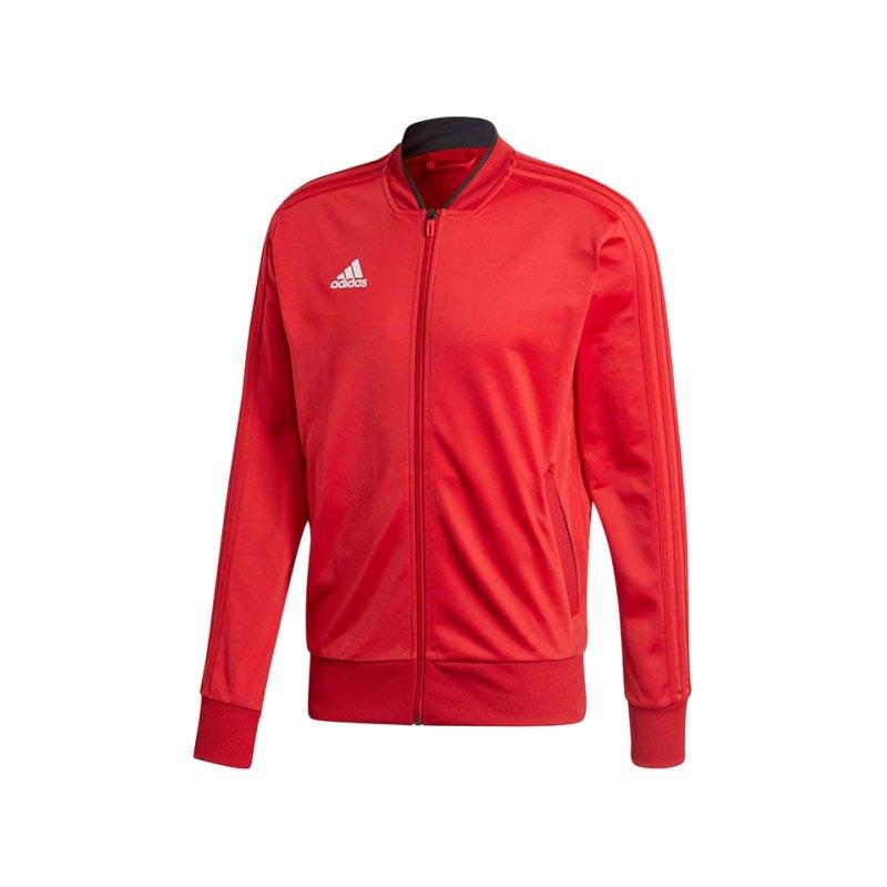 adidas Condivo 18 Polyesterjacke Rot Schwarz - rot