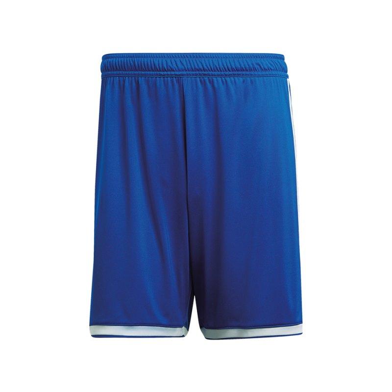 adidas Regista 18 Short Hose kurz Kids Blau Weiss - blau