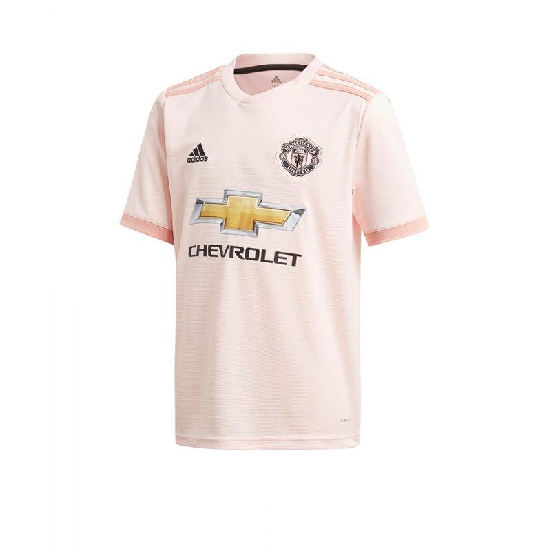 adidas Manchester United Trikot Away Kids 2018/2019 Pink - pink