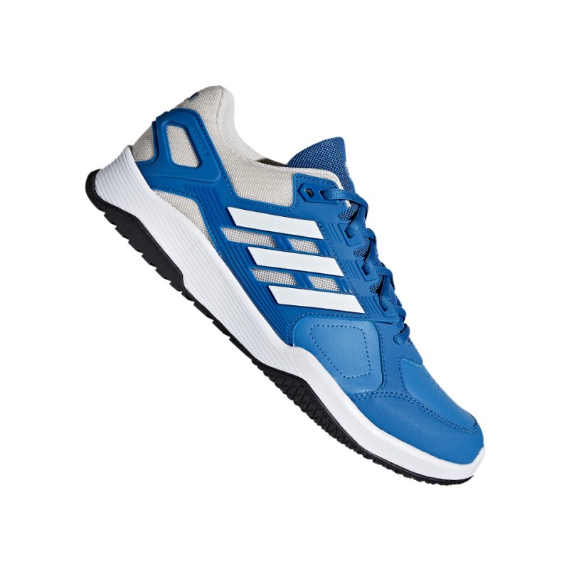 adidas Duramo 8 Running Blau Weiss - blau