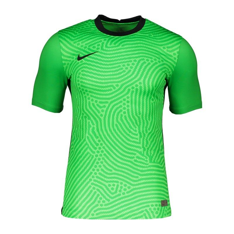 Nike Promo TW-Trikot kurzarm Grün F398 - gruen