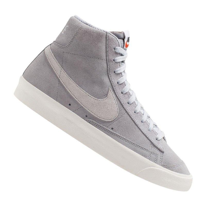Nike Blazer Mid 77 Suede Grau F001 - grau