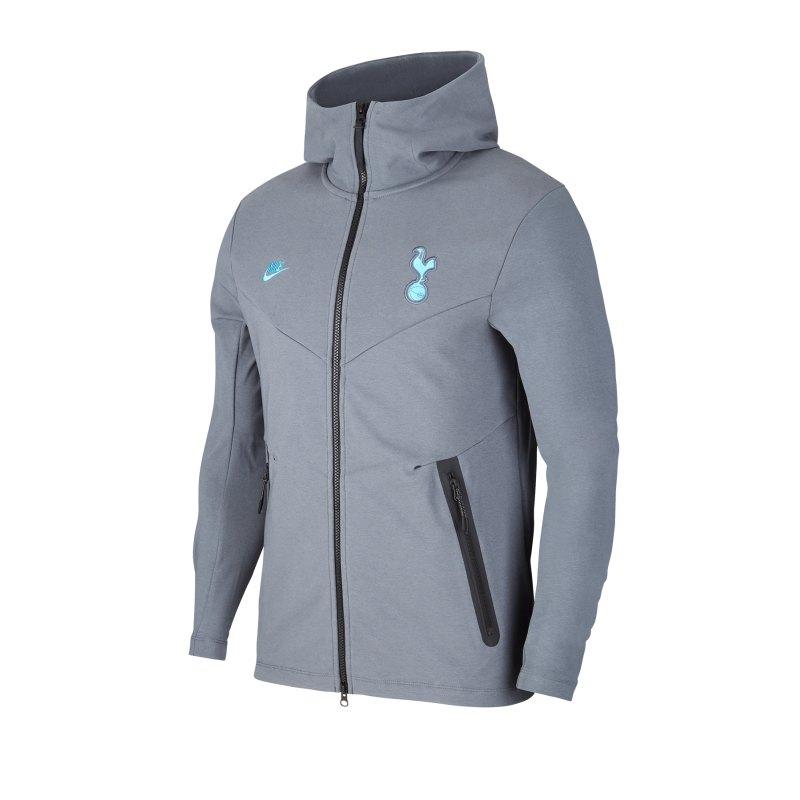 Nike Tottenham Hotspur Tech Kapuzenjacke Grau F030 - grau