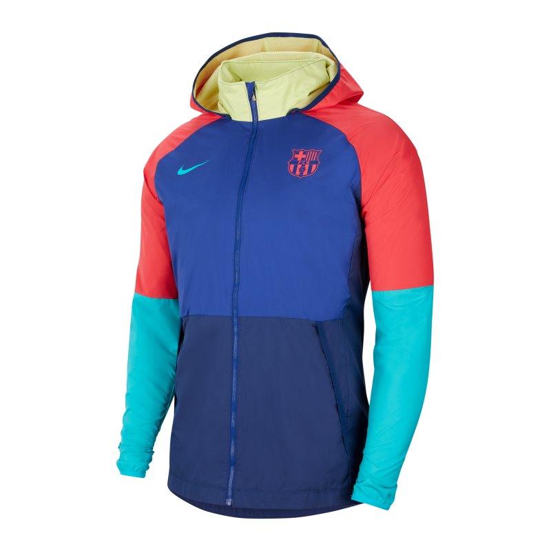 Nike FC Barcelona Jacke Blau F455 - blau