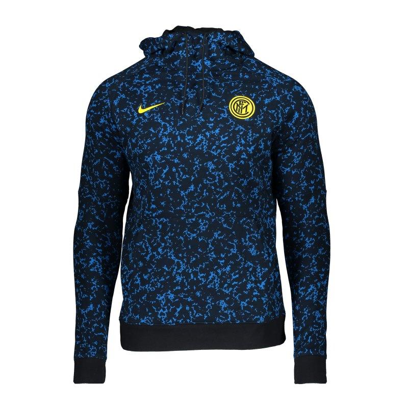 Nike Inter Mailand Hoody Schwarz F010 - schwarz
