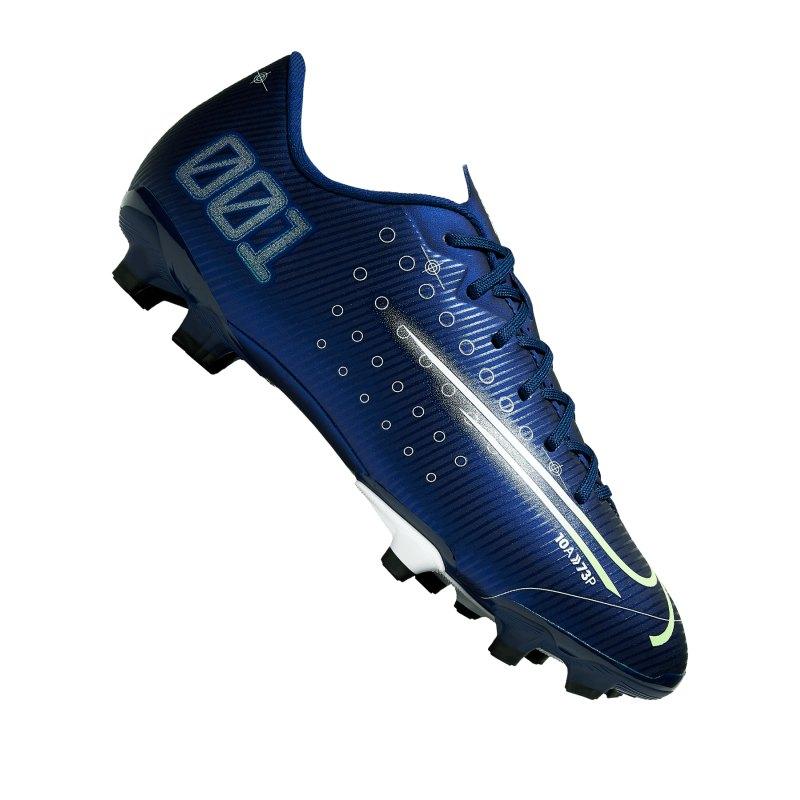 Nike Jr Mercurial Vapor XIII DS Academy FG Kids Blau F401 - blau