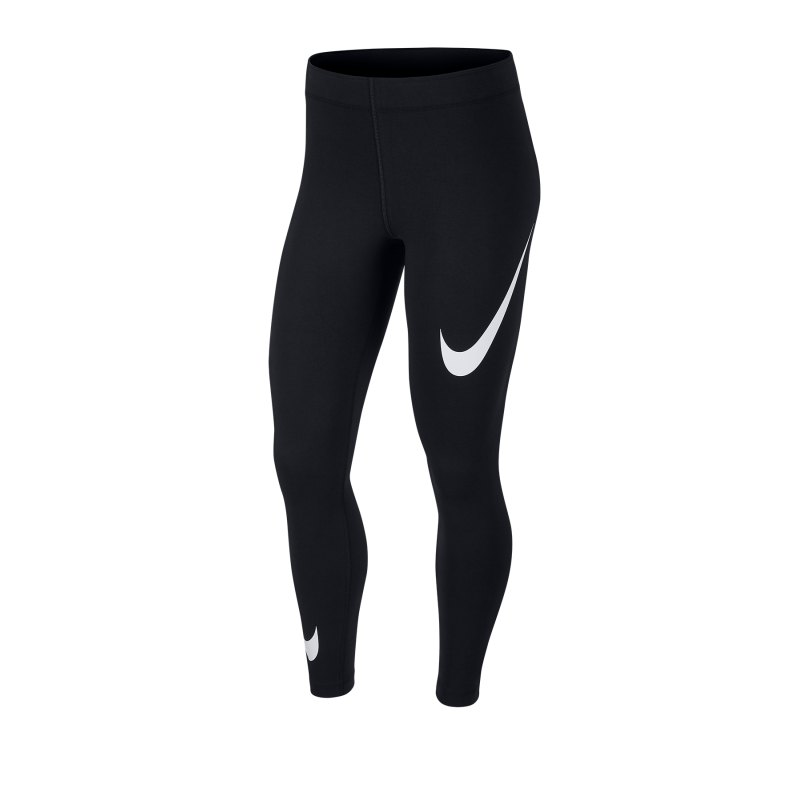 Nike Leg-A-See Leggings Damen Schwarz F013 - schwarz