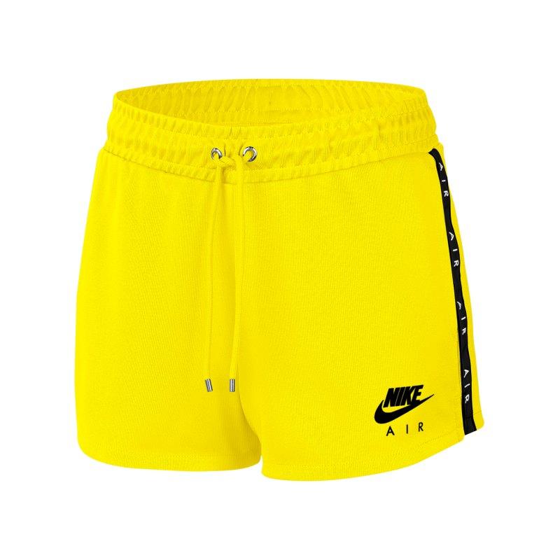 Nike Air Short Damen Gelb F731 - gelb