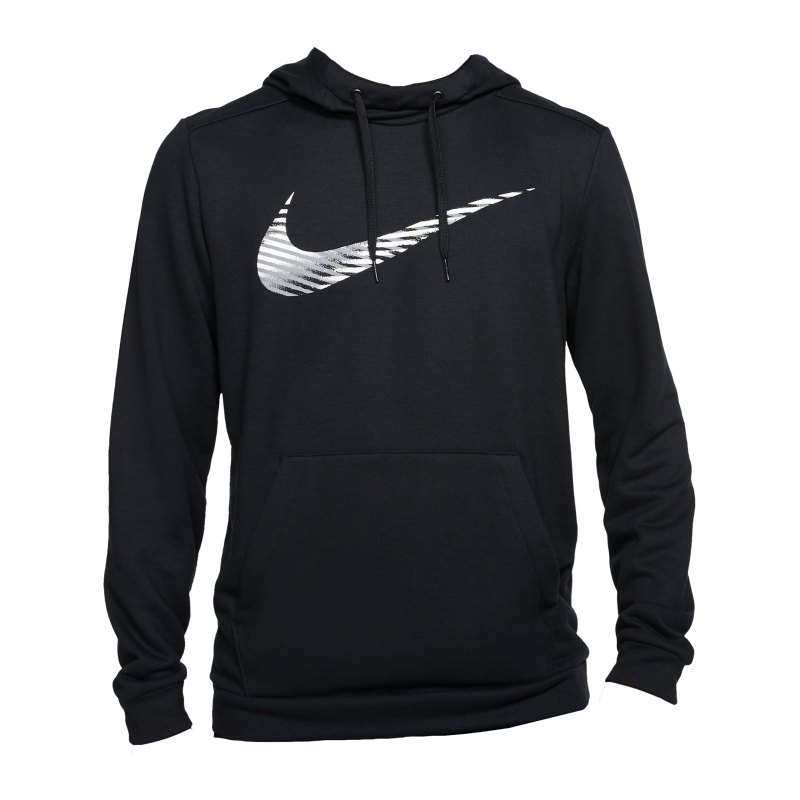 Nike Swoosh Kapuzenpullover Schwarz F010 - schwarz